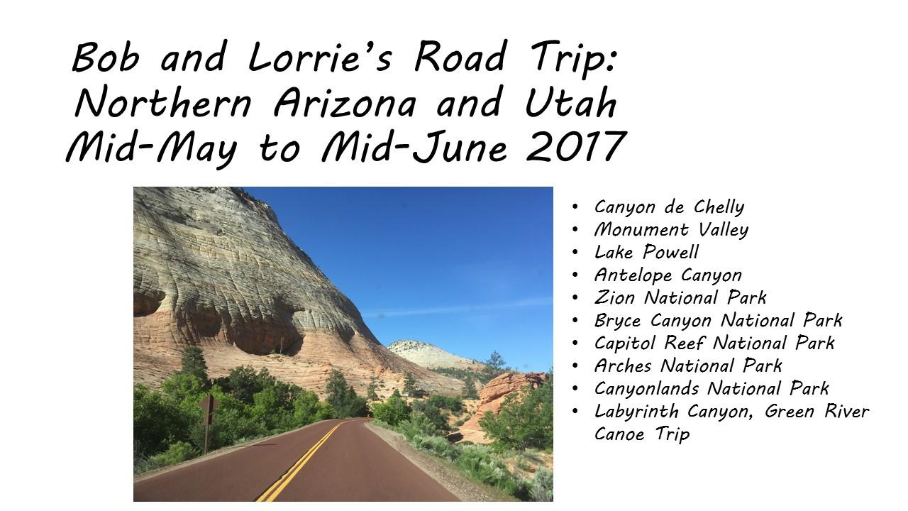 Northern Arizona and Utah