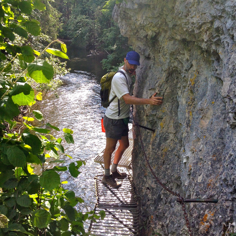Hiking at Slovensky Raj